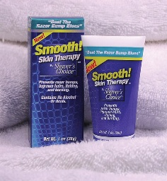Smooth Skin Therapy prevents razor bumps, razor burn, and ingrown hairs